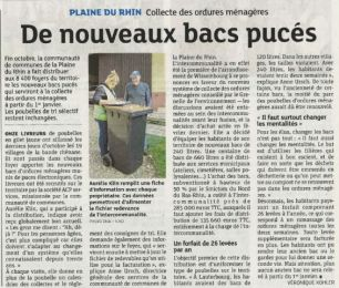 Article Presse DNA Alsace